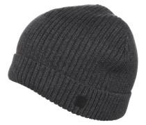 Mütze dark grey melange