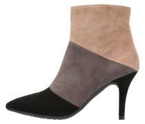 TUYO Ankle Boot black/grape/melanzana