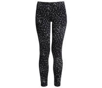 Leggings Hosen noir / blanc