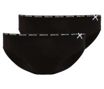BASIC LINE 2 PACK Slip noir