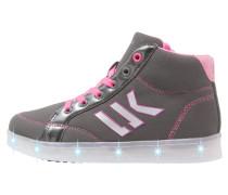 GLOW Sneaker high grey/pink