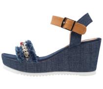BALKANY Keilsandalette jeans