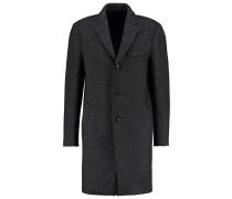 CROMBIE Wollmantel / klassischer Mantel black