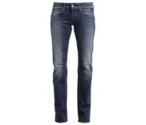NEW SWENFANI Jeans Straight Leg blue denim