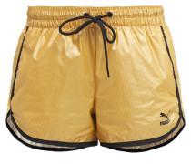 Shorts pale gold