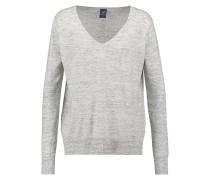 Strickpullover medium grey heather