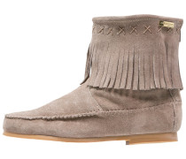 CRABE Stiefelette taupe