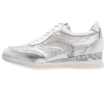 ZEPPER Sneaker low argento/iceberg/bianco