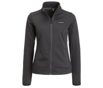 ZALMA Fleecejacke black heather