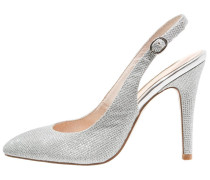 High Heel Pumps star silver