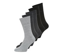 5 PACK Socken black
