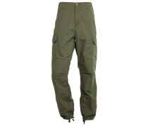 COLUMBIA Cargohose rover green rinsed