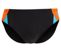 DROM Badehosen Slips black/mango/turquoise