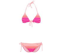 Bikini pink striped