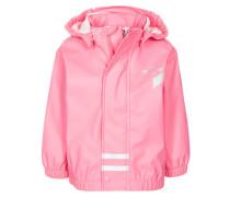 Regenjacke / wasserabweisende Jacke pink