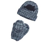 SET - Mütze - blue