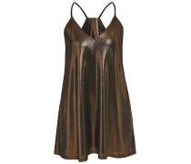 Freizeitkleid bronze