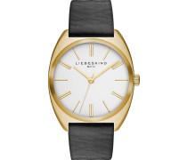 VEGETABLE - Uhr - schwarz/weiß/goldfarben