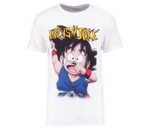 TAKU M - T-Shirt print - white