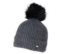AMOLA Mütze raven grey