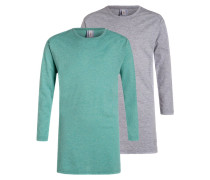 Nachthemd grau/mint