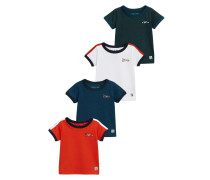 4 PACK TShirt print red