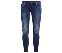VMFIVE Jeans Slim Fit dark blue denim