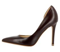 High Heel Pumps dark brown