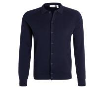 Strickjacke - navy blue