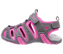 Trekkingsandale - grey/pink
