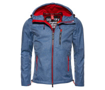 Übergangsjacke - navy marl/rebel red