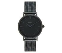 MINUIT - Uhr - black