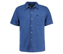 Hemd - micro blue