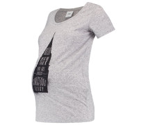 MLSPRING - T-Shirt print - light grey melange