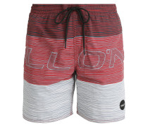 STACKED Badeshorts red