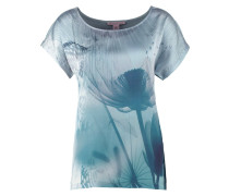 Bluse silver blue
