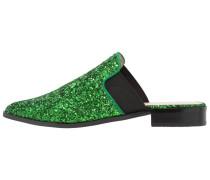 DONEEN - Pantolette flach - green glitter