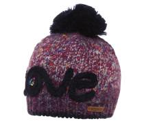 ROSENSPITZE Mütze mottled purple
