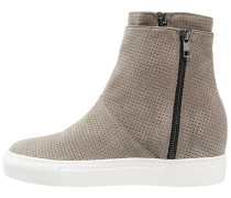 Sneaker high light taupe