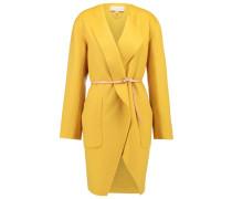 Wollmantel / klassischer Mantel - jaune