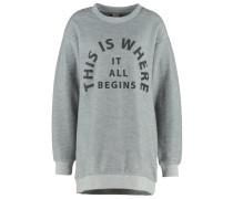 ARRANGEMENT Sweatshirt mid grey marl