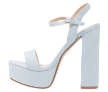 STRADA 5 - Plateausandalette - light blue