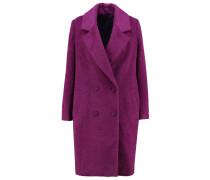 POMPO Wollmantel / klassischer Mantel dark purple