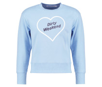 DIRTY WEEKEND Sweatshirt mid blue
