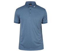 TOUR TECH Poloshirt blue melange