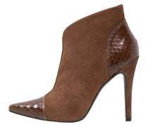 High Heel Stiefelette marron