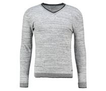 RUVI - Strickpullover - light grey melanged