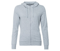 ONPLINA Sweatjacke light grey melange