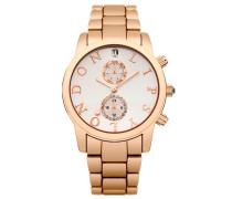 Uhr rosegoldcoloured