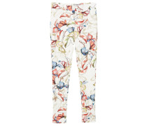 FAMARA Leggings Hosen white